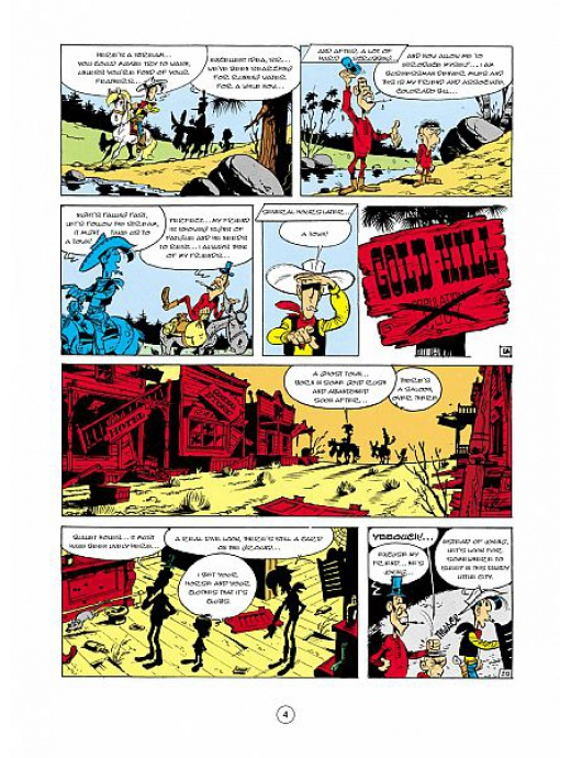 Lucky Luke 02 - Ghost Town