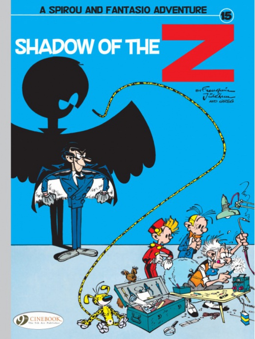 Spirou & Fantasio 15 - Shadow of the Z