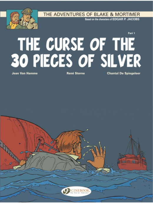Blake & Mortimer 13 - The Curse of the 30 Pieces of Silver Part 1