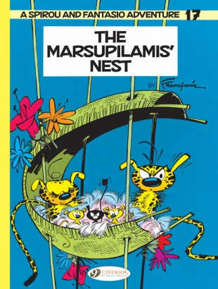 Spirou & Fantasio 17 - The Marsupilamis' Nest