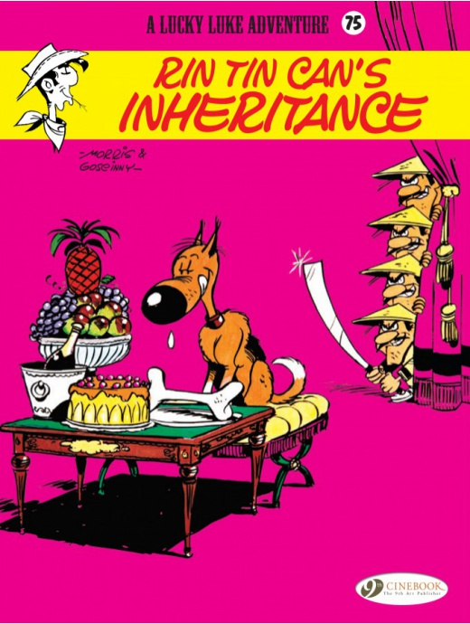 Lucky Luke 75 - Rin Tin Can\'s Inheritance