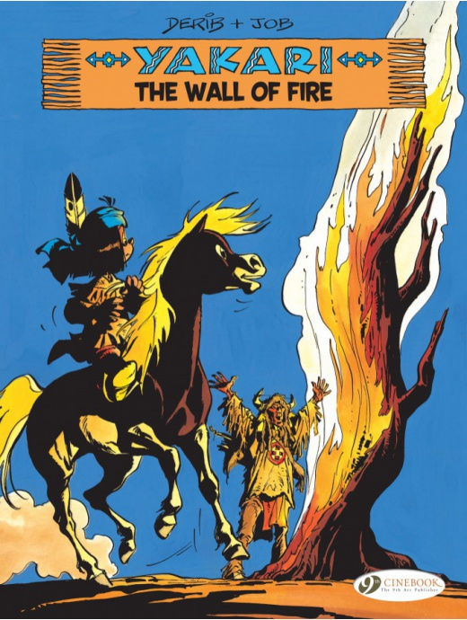 Yakari 18 - The Wall of Fire