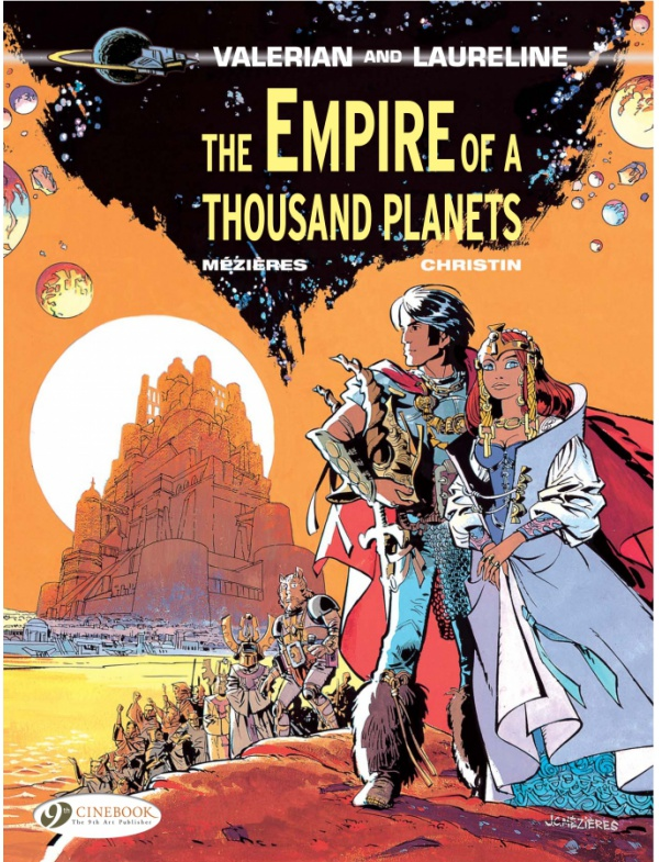 VALERIAN & LAURELINE VOL 02 THE EMPIRE OF A THOUSAND PLANETS