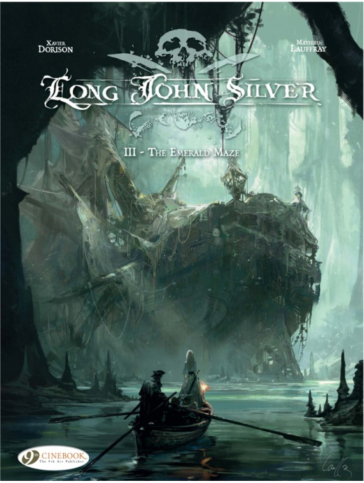 Long John Silver 3 - The Emerald Maze