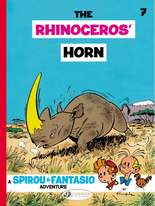 Spirou & Fantasio 07 - The Rhinoceros' Horn