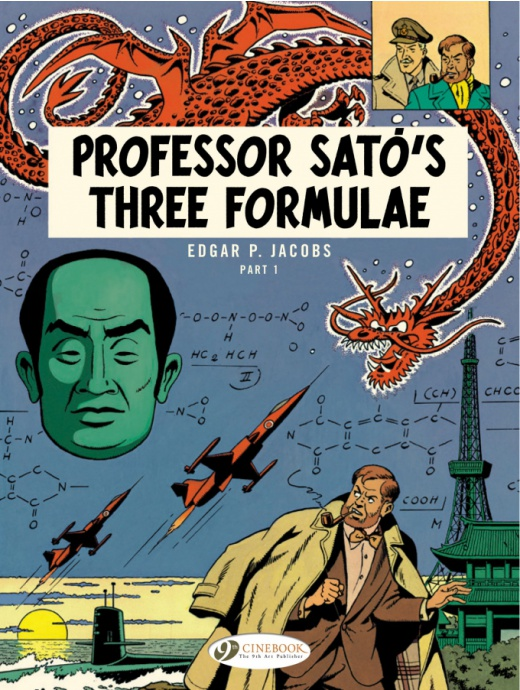 Blake & Mortimer 22 - Professor Sato\'s Three Formulae Part 1