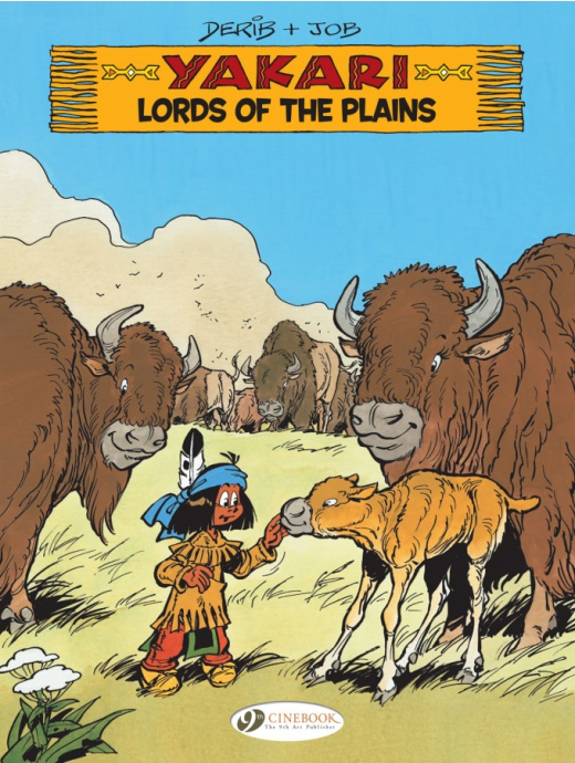 Yakari 14 - Lords of the Plains