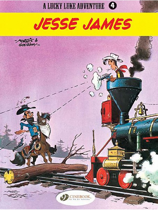Lucky Luke 04 - Jesse James