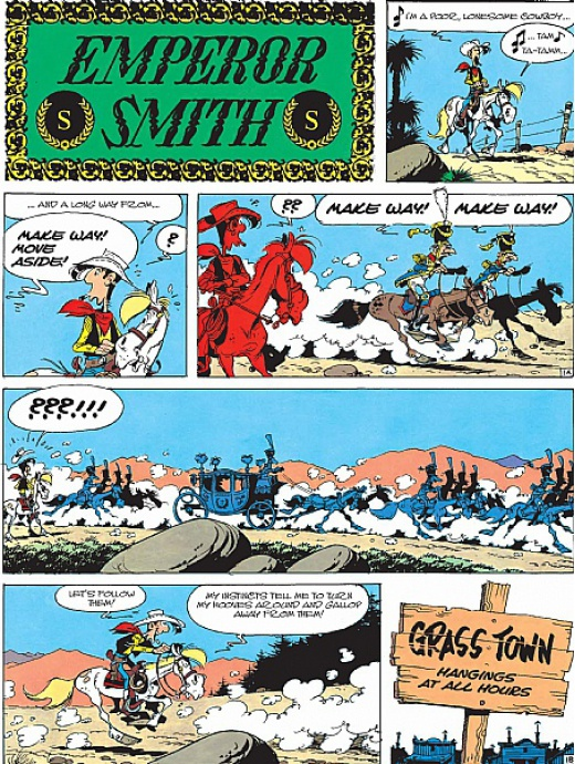 Lucky Luke 22 - Emperor Smith