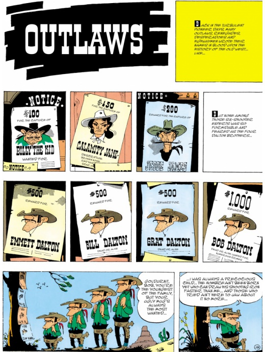 Lucky Luke 47 - Outlaws