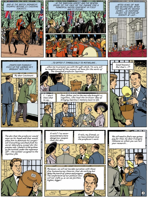 Blake & Mortimer 20 - The Septimus Wave