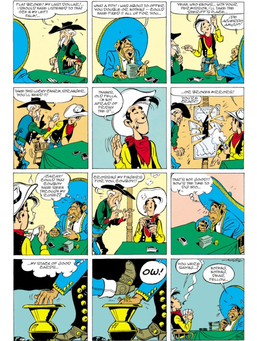 Lucky Luke 43 - The Bluefeet are Coming!