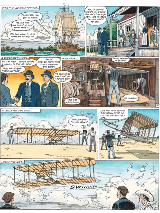 Cinebook Recounts 3 - The Wright Brothers