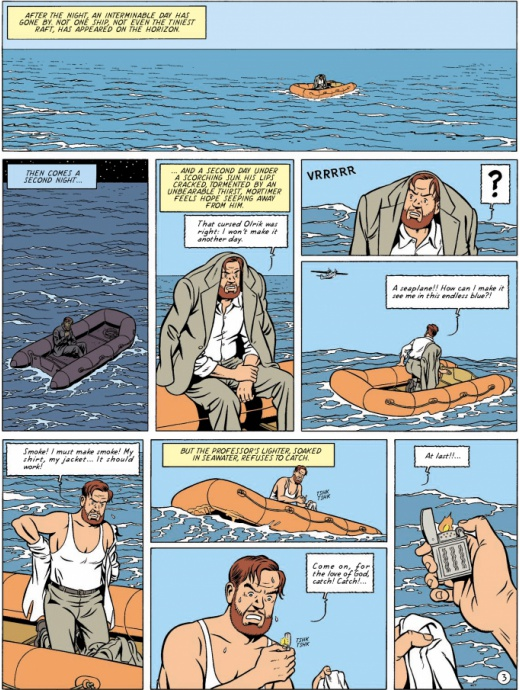 Blake & Mortimer 14 - The Curse of the 30 Pieces of Silver Part 2