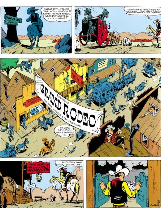 Lucky Luke 55 - Arizona
