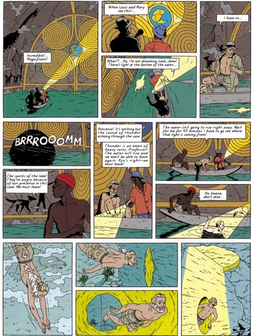Blake & Mortimer 11 - The Gondwana Shrine