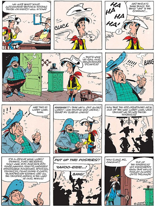 Lucky Luke 25 - The Stagecoach