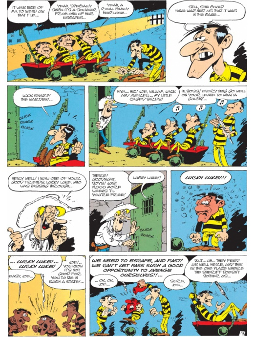 Lucky Luke 30 - The Daltons' Escape