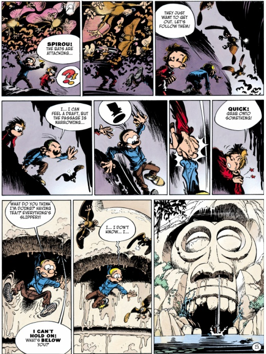 Spirou & Fantasio 04 - Valley of the Exiles
