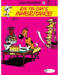 Lucky Luke 75 - Rin Tin Can's Inheritance