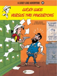 Lucky Luke 31 - Lucky Luke Versus the Pinkertons