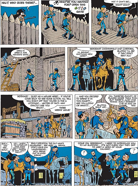 The Bluecoats - Volume 4 - The Greenhorn: 04