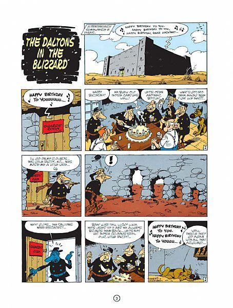 Lucky Luke Vol. 15: The Daltons in the Blizzard