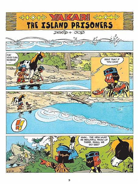 Yakari - Volume 7 - The Island Prisoners: 07